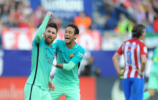 Примера: Месси принес Барселоне победу над Атлетико, волевая победа Реала