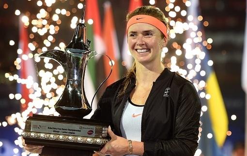 Свитолина триумфовала на престижном турнире в Дубае