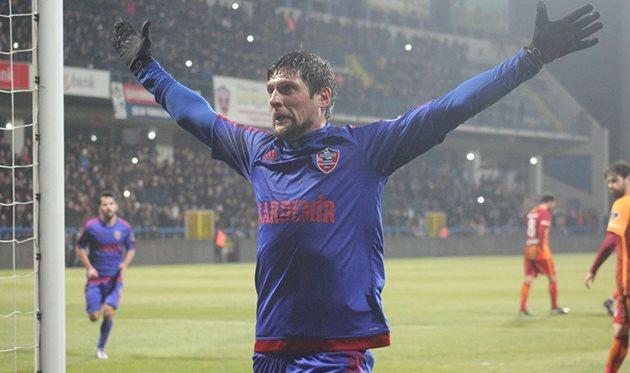 Гол Селезнева принес победу «Карабюкспору» вматче чемпионата Турции