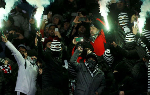 УЕФА наказал Динамо за беспорядки фанатов