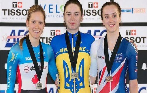 Трое украинских велосипедистов выиграли Кубок мира на треке