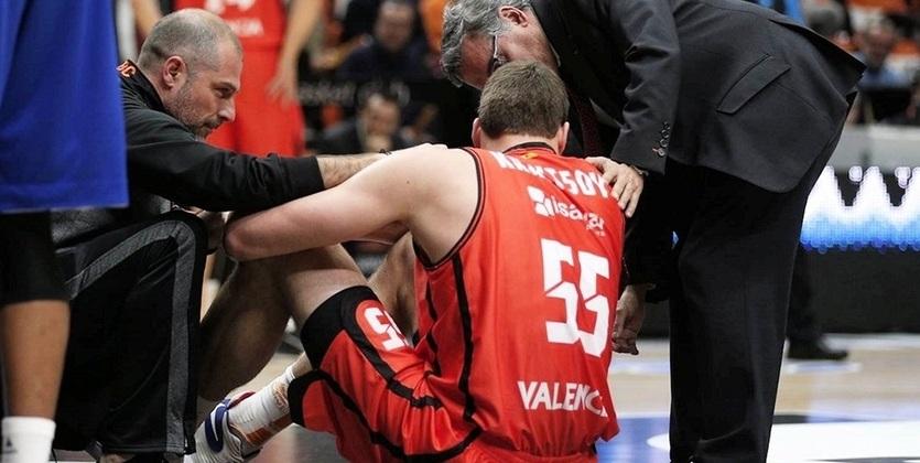 Баскетбол: Украинский центровой «Валенсии» пропустит остаток сезона