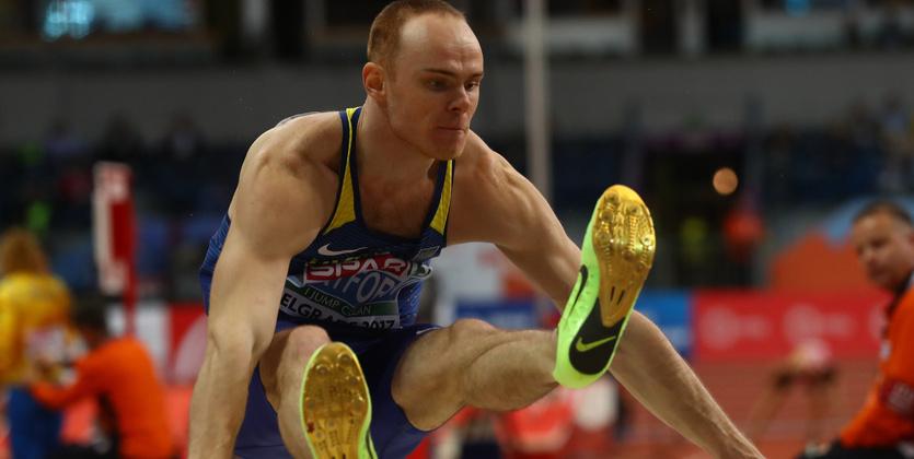 Украинский легкоатлет Никифоров сантиметр недопрыгнул дозвания чемпиона Европы