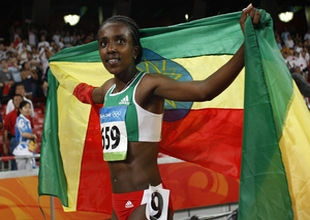 Легкая атлетика. Дибаба установила мировой рекорд