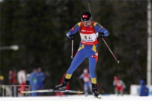 Биатлон. Три украинки в первой десятке индивидуальной гонки