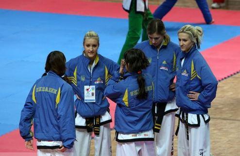 Таэквондо. Украина - вторая в общем зачете Чемпионата Европы