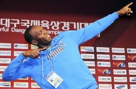 Болт выиграл 100-метровку на соревнованиях в Дегу