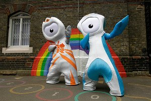 Лондон представил талисманов Олимпиады-2012