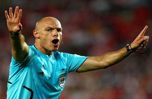 Уэбб назначен арбитром финального матча Лиги Чемпионов