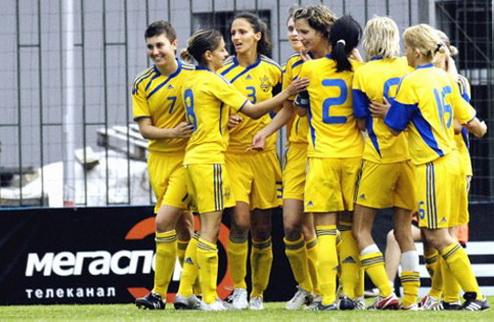 Женский футбол. Украина побеждает Венгрию