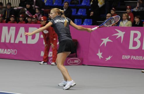А. Бондаренко проигрывает теннисистке третей сотни