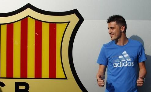 Официально: Вилья стал игроком Барселоны