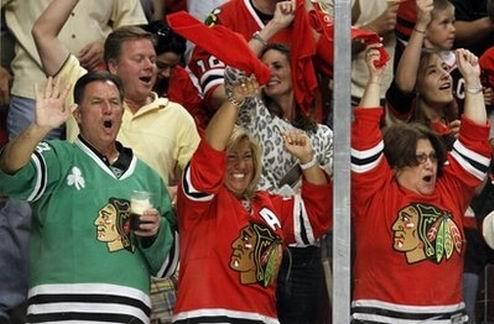НХЛ. Чикаго - первый финалист Кубка Стэнли