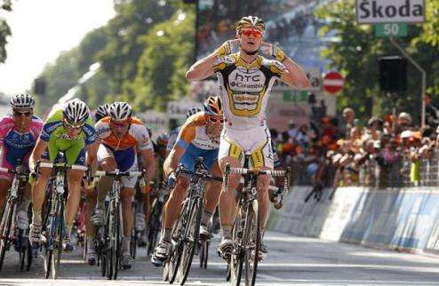 Джиро д'Италия. Грайпель наконец побеждает