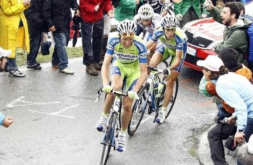 Джиро д'Италия. Бассо делает заявку на общую победу