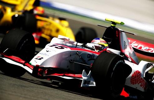 GP2. Гран-при Турции. Первая гонка
