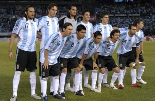Представление сборной Аргентины