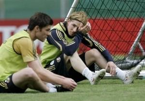 Торрес принял участие в тренировке сборной