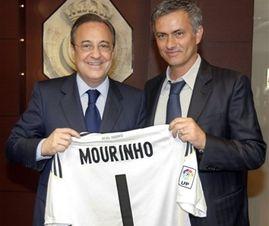 """Перес: """"Реал останется зрелищным и при Моуриньо"""""""